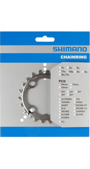 Shimano Deore XT FC-M782 Kettenblatt 64 BCD silber